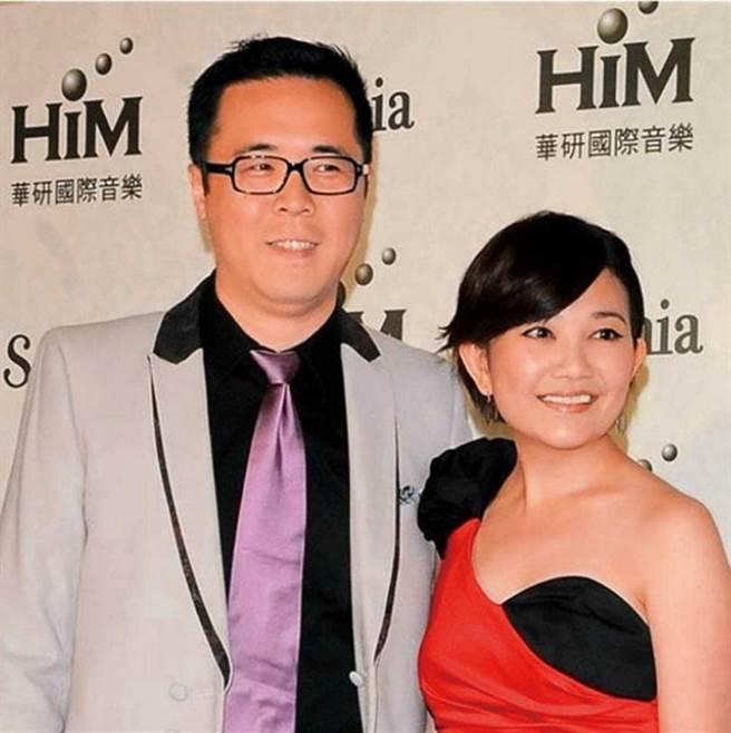 去年梁靜茹與趙元同離婚,男方一度被爆出外遇搞曖昧,但他否認。(圖/報系資料庫)