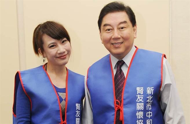 高國華與陳子璇婚姻亮起紅燈。(圖/中時資料照)