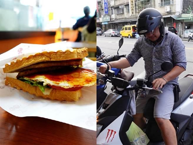 北投超佛心早餐店,消費滿$15老闆就會親自外送。(照片/游定剛 拍攝)