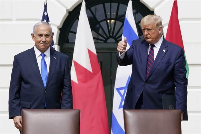 川普这几年相当支持以色列,因此以色列人也普遍支持川普。(图/美联社)