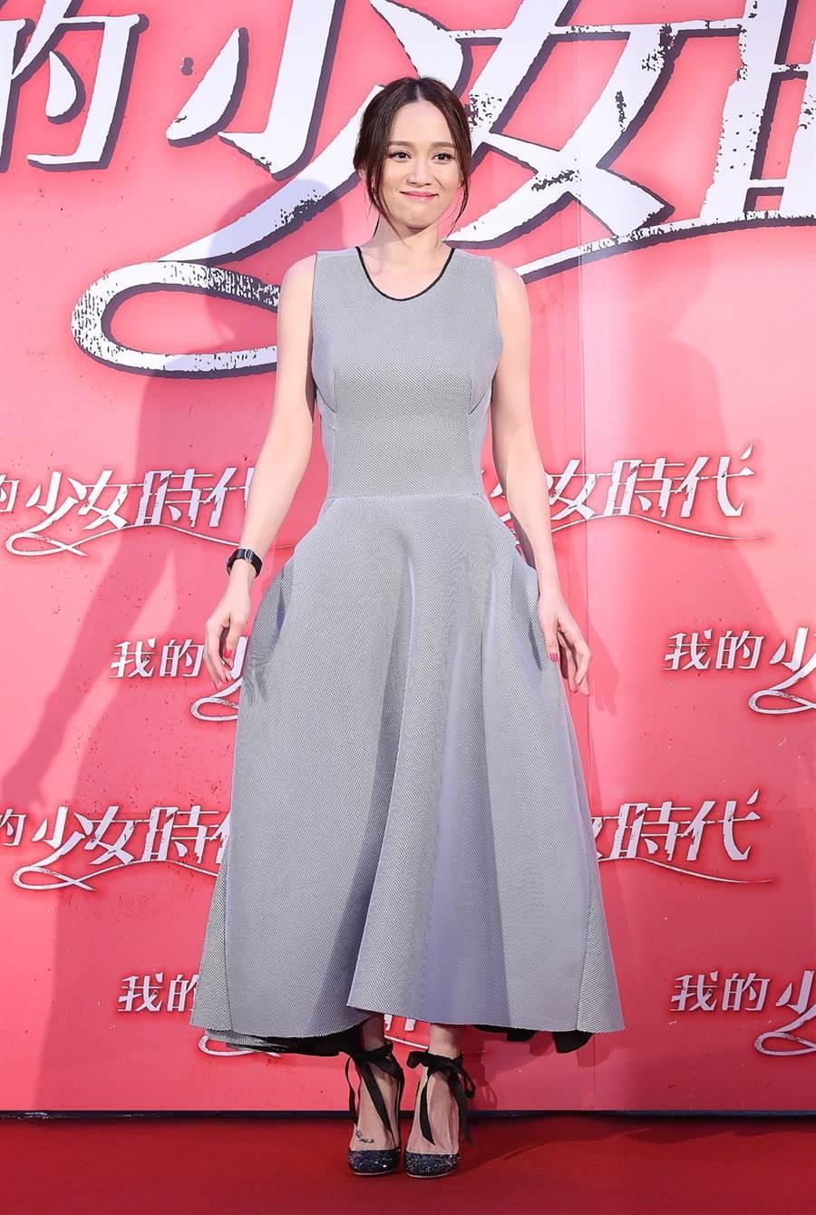 陈乔恩不止恋情引发关注,她的身材和颜值也是外界焦点。(图/本报系资料照片)