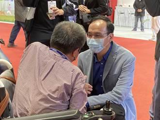 行政院作攻擊圖  朱立倫:難怪我被很多同樣的圖片文字攻擊