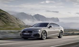 230萬起三車型,2021年式Audi A5 Sportback車系標配12V MHEV 升級上市