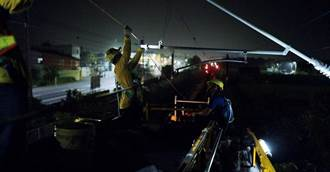 台鐵員工誤觸拖上線全身60%燒燙傷 勞安室調查中
