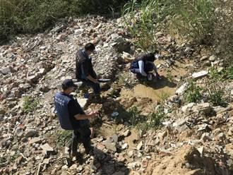 污染新竹油羅溪元凶查到了 砂石場負責人移送法辦