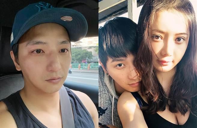 小煜今年8月宣布雙喜臨門當爸。(圖/翻攝自楊奇煜臉書)