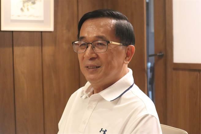 前總統陳水扁。(資料照/李宜杰攝)