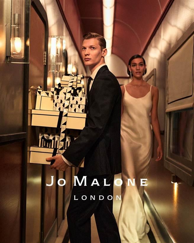 Jo Malone London年度繽紛聖誕系列形象圖。(Jo Malone London提供)