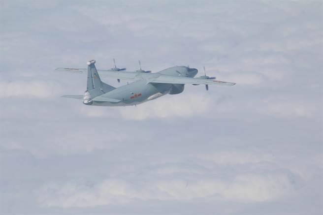 運-8遠干機(同型機)。(國防部提供)