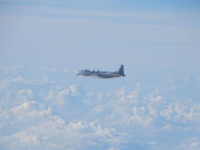 運-9通信對抗機(同型機)。(國防部提供)