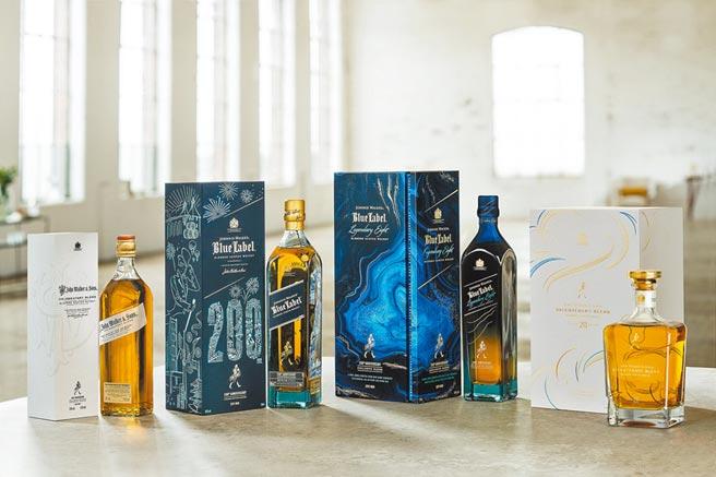 以時代先驅為使命的JOHNNIE WALKER,在威士忌領域不拘束於過往僵化教條,開拓未來,成為威士忌大時代的「造局者」。將兩個世紀的歷史價值和品牌的「先驅」、「開拓」、「珍稀」精神與大師級的調和工藝,化作值得珍藏的「JOHNNIE WALKER 200周年絕世珍稀系列」頂級奢華酒款。成組只於指定酒專通路販售,數量有限,值得藏家品酩收藏。圖/業者提供