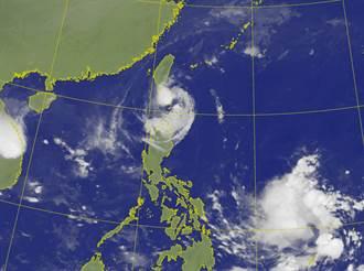 閃電颱風陸警新增台南!最快午間觸陸 全台8鄉鎮今停班課