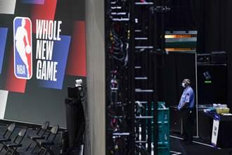 NBA》部分觀眾進場有望 下季將開放球館包廂