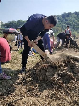西湖農村體驗周末登場 地瓜爆米香飄香推廣農產