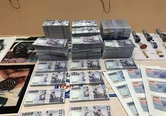 真鈔摻假鈔混一起付款收購勞力士錶 6人遭騙400餘萬元