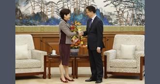 接見林鄭月娥 韓正:中央全力支持香港繁榮穩定