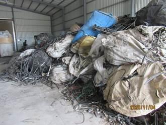 出租廠房供棄置數千噸廢棄物 地主年收3、4百萬還想裝傻