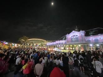今年1-8月全國觀光區遊客數 台中3200萬人次居全國第一