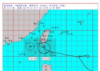 閃電颱風來襲釀4災情 1人遭帳篷倒塌壓傷