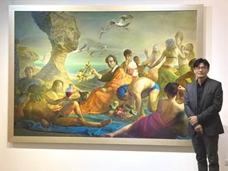 林欽賢繪畫創作展 彰化生活美學館展出