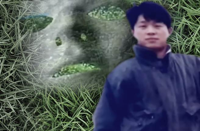 兇嫌邱俊雄在1994年間拐走國中少女,殘忍殺害後棄屍草叢。(圖/中天新聞)