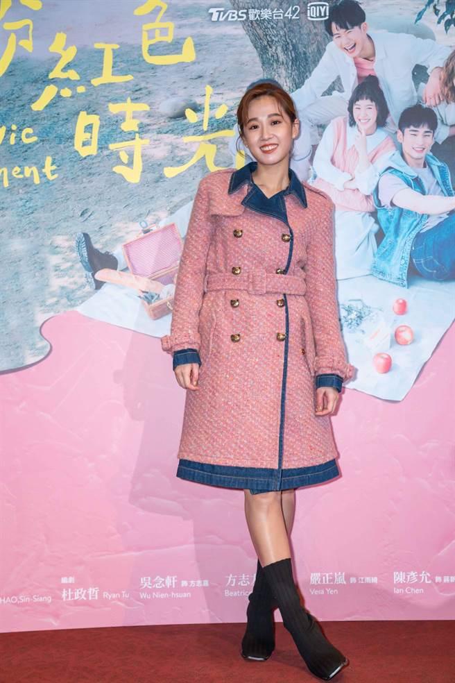 《粉紅色時光》女主角方志友。(TVBS提供)