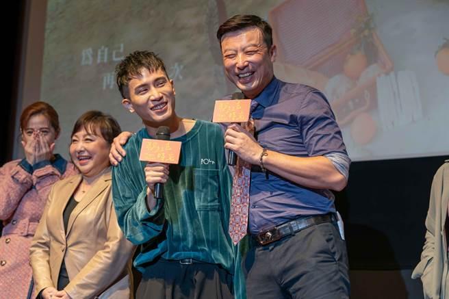 陳彥允、林煒在劇中飾演父子。(TVBS提供)