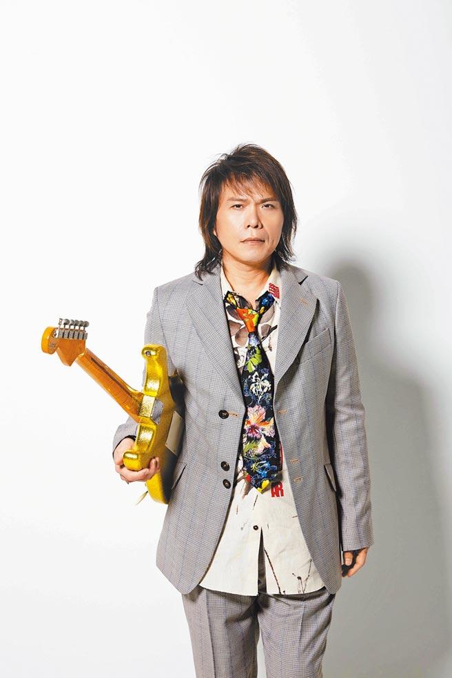 伍佰將為台北跨年壓陣獨家獻唱。(必應創造提供)