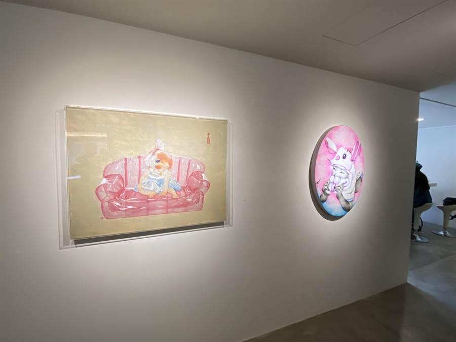 臻品見證台灣美術演化的縮影與紀錄。(盧金足攝)