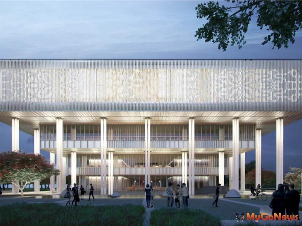 黃偉哲市政更貼近市民生活 台南市立圖書館新總館2021年1月開館(圖/台南市政府)