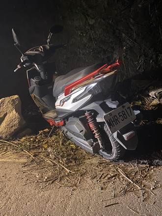 騎士夜闖中橫管制站撞2人 棄車跳百米深邊坡搜救中