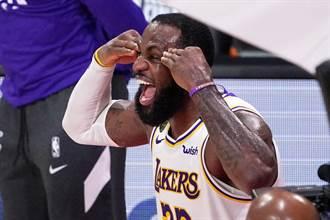 NBA》詹皇續酸川普失敗者 大讚首位女副總統