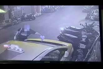 深夜潑油縱火燒車 警3小時迅速逮捕嫌犯