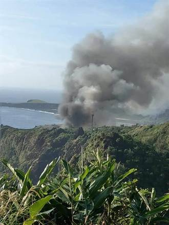 垃圾掩埋場悶燒 濃煙與臭味壟罩全綠島