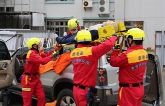 新竹縣義勇特種搜救隊強化訓練驗收成果