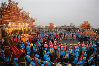 台西安西府萬人建醮遶境 為台灣祈福除疫