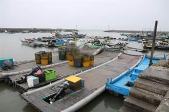 閃電颱風閃離 雲林漁民防強浪與外圍環流大雨