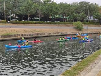 全國河川日親子野餐獨木舟輕艇享划水樂