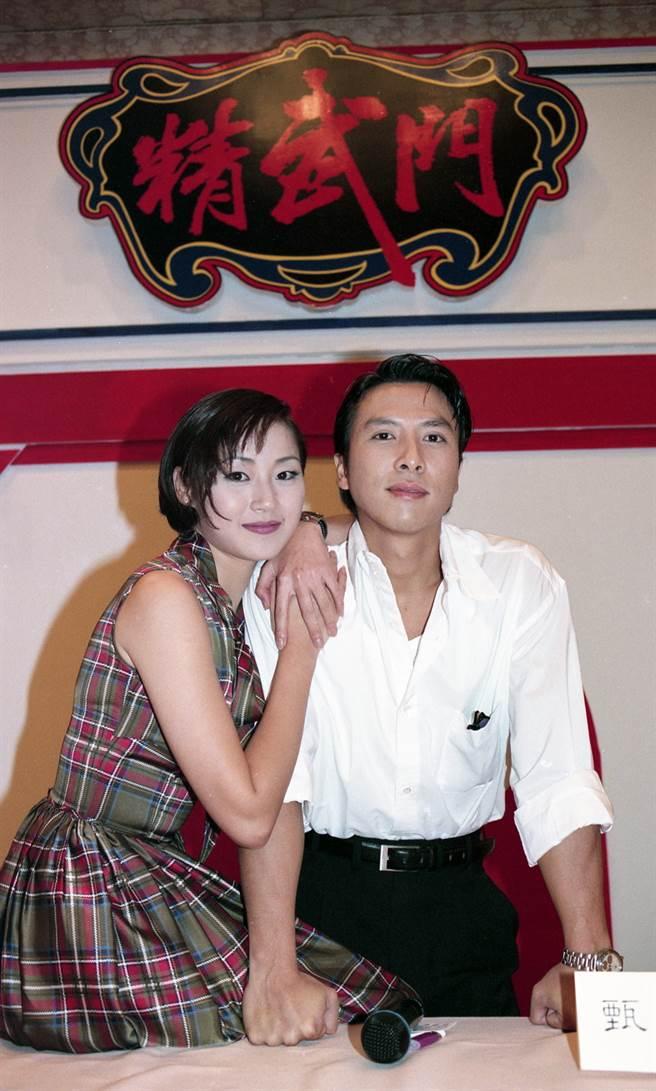 萬綺雯和甄子丹曾有一段虐戀。(圖/ 取自中時資料庫,蔡宜謀攝)