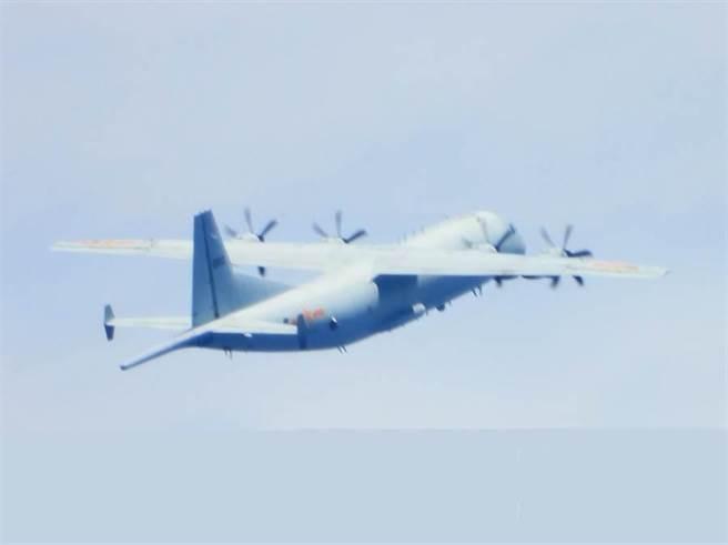 共機連日闖入我西南防空識別區內飛航活動,遭我軍廣播驅離。(示意圖/資料照)