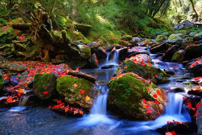 圖為太魯閣國家公園內的秋天景致,美不勝收。(圖/達志影像)