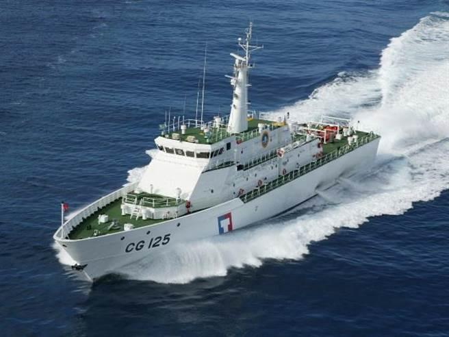 馬祖海巡隊增派正駐守馬祖海域的「連江艦」前往協處。(示意圖,摘自海巡署官網)