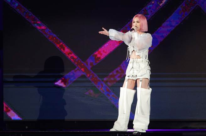 杨丞琳昨日开始,一连三天在台北小巨蛋举行演唱会。(本报系资料照)