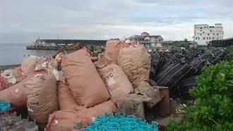 綠島貨輪停航 港口成垃圾場