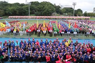 新北長青趣味運動大會  逾2000名長者作伙相招來運動