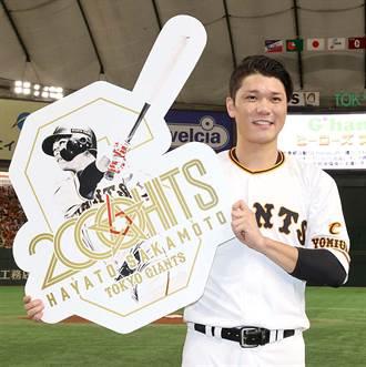 日職》坂本勇人 史上最年輕2000安右打者