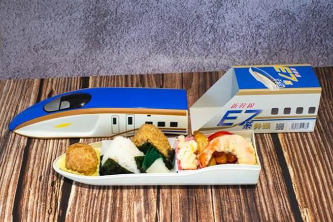 東日本JR- E7新幹線便當,售價350元。(台鐵局提供)