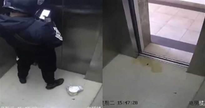 外送員電梯裡拉下拉鍊掏出寶貝 監視器曝光住戶拳頭硬了(圖片取自/荔枝新聞)