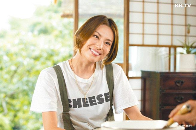 米仓凉子初进戏剧圈时曾立志「3年内当主角」显企图心。(KKTV提供)