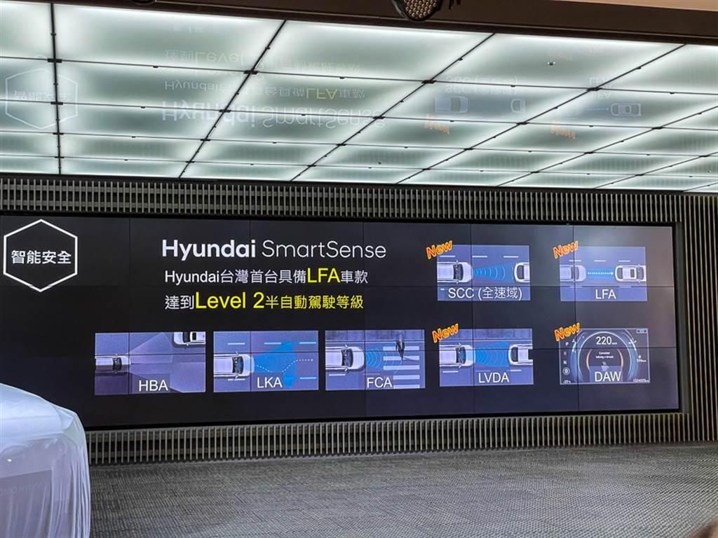 IONIQ Hybrid為品牌首款具備LV2半自動駕駛輔助能力的車款。